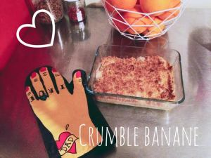 crumble banane